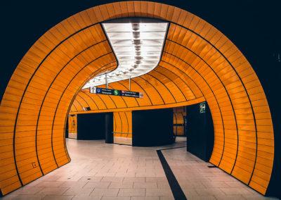 Fließen Bahnhof