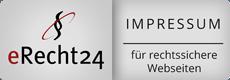 Impressum Logo eRecht24